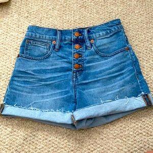 Madewell Jean Shorts!